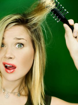 Getting A Stuck Brush Out Of Your Hair – The Quick & Easy Way